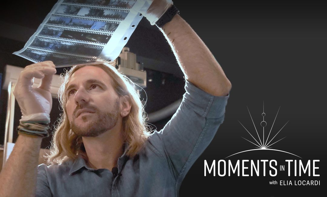 "I'm so excited to release the trailer for my new video series ""Moments in Time!"""